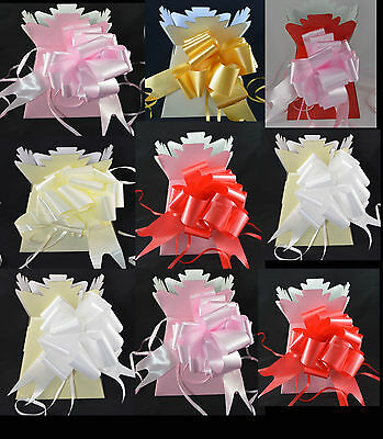 Living Vase Flower Bouquet Florist Craft Mothers day Gift + 30 mm Pull Bow 2