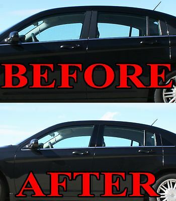 Black Pillar Posts fit Lincoln MKT 10-15 8pc Set Door Cover Trim Piano Kit