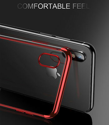 Luxury Ultra Slim Shockproof Silicone Clear Case Thin Cover For Apple iPhone XR 3