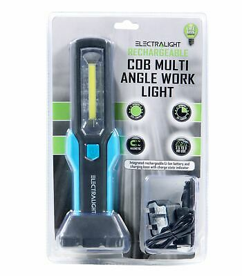 Electralight COB LED Work Light Cordless Inspection Torch Li-Ion Rechargeable 2