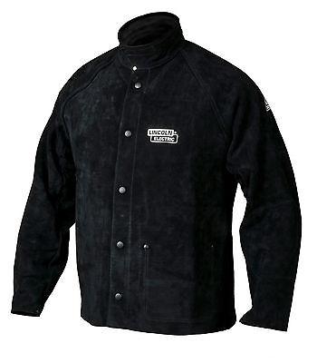 Lincoln Heavy Duty Leather Welders Welding Jacket Size Large K2989-L