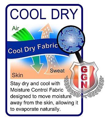 Hi Vis Polo Shirt Hivis Arm Panel Fluoro Workwear Cool Dry Long Sleeve 2