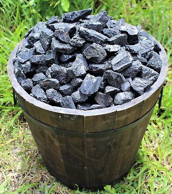 Black Tourmaline Rough Natural Stones: 1 lb Bulk Wholesale Chakra Raw (16 oz) 7