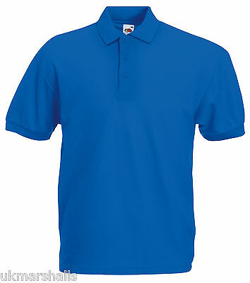 Bulk Buyer Fruit Of The Loom Polo T Shirt 14 Colours All Sizes Bn 3
