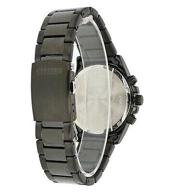 Citizen Men's Quartz Chronograph Black Multi Dial Bracelet 42mm Watch AN3645-51E 4