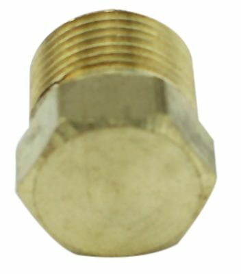 "Brass Plug Fitting - 3/8"" Male BSP - 4350PSI - Tapered"