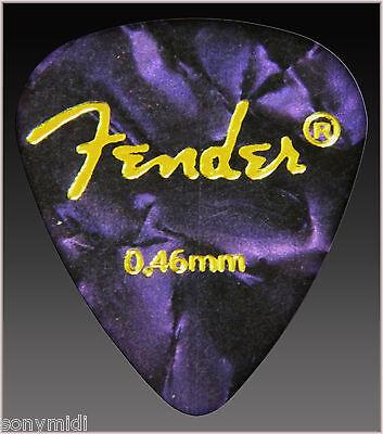PÚAS GUITARRA puas FENDER Mix 9 Guitar picks plectrum Bajo, Bandurria, laud.. 8