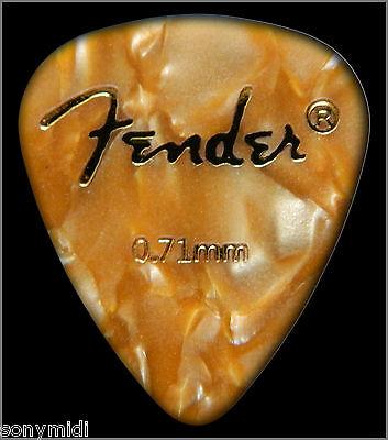 PÚAS GUITARRA puas FENDER Mix 9 Guitar picks plectrum Bajo, Bandurria, laud.. 6