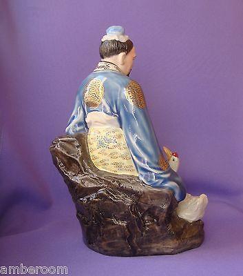 Vintage Rose de Famille chino porcelana estatuilla figura estatua China Wang... 7