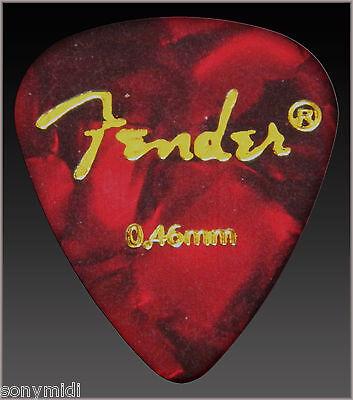 PÚAS GUITARRA puas FENDER Mix 9 Guitar picks plectrum Bajo, Bandurria, laud.. 9