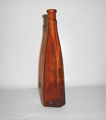 Alte Flasche Herzgold Dr.Madaus & Co Tinktur Medizin braun glass Vintage Deko 3