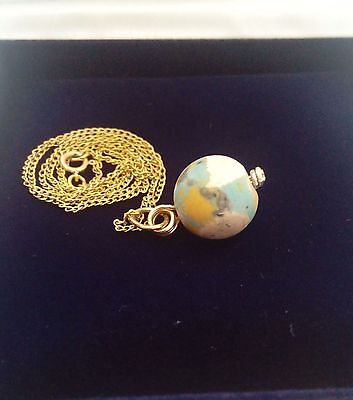 Fabulous Ancient Eastern Mediterranean  Bead And 14K Gold Chain Vintage Necklace 5