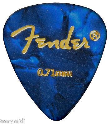 PÚAS GUITARRA puas FENDER Mix 9 Guitar picks plectrum Bajo, Bandurria, laud.. 5