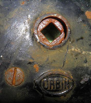 Antique Eastlake Brass Door Knobs Orbin Hardware Locksets Victorian BIN Save $$ 6