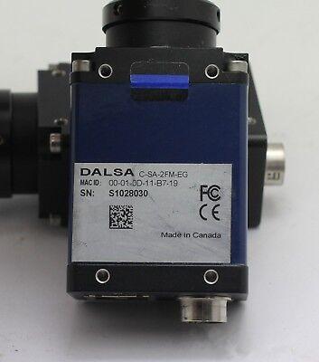 1PCS  DALSA C-SA-2FM-EG Gigabit Network 2 million CCD camera  tested 5