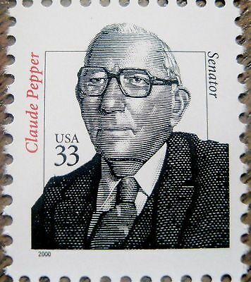Distinguished Americans Complete MNH Set of All 15 Stamps Scott's 3420 to 3436 4