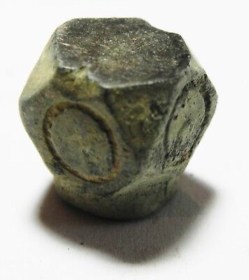 Zurqieh - As3622- Islamic Bronze Weight? Or Crown For A Tool?! Mamluk Or Earlier 2