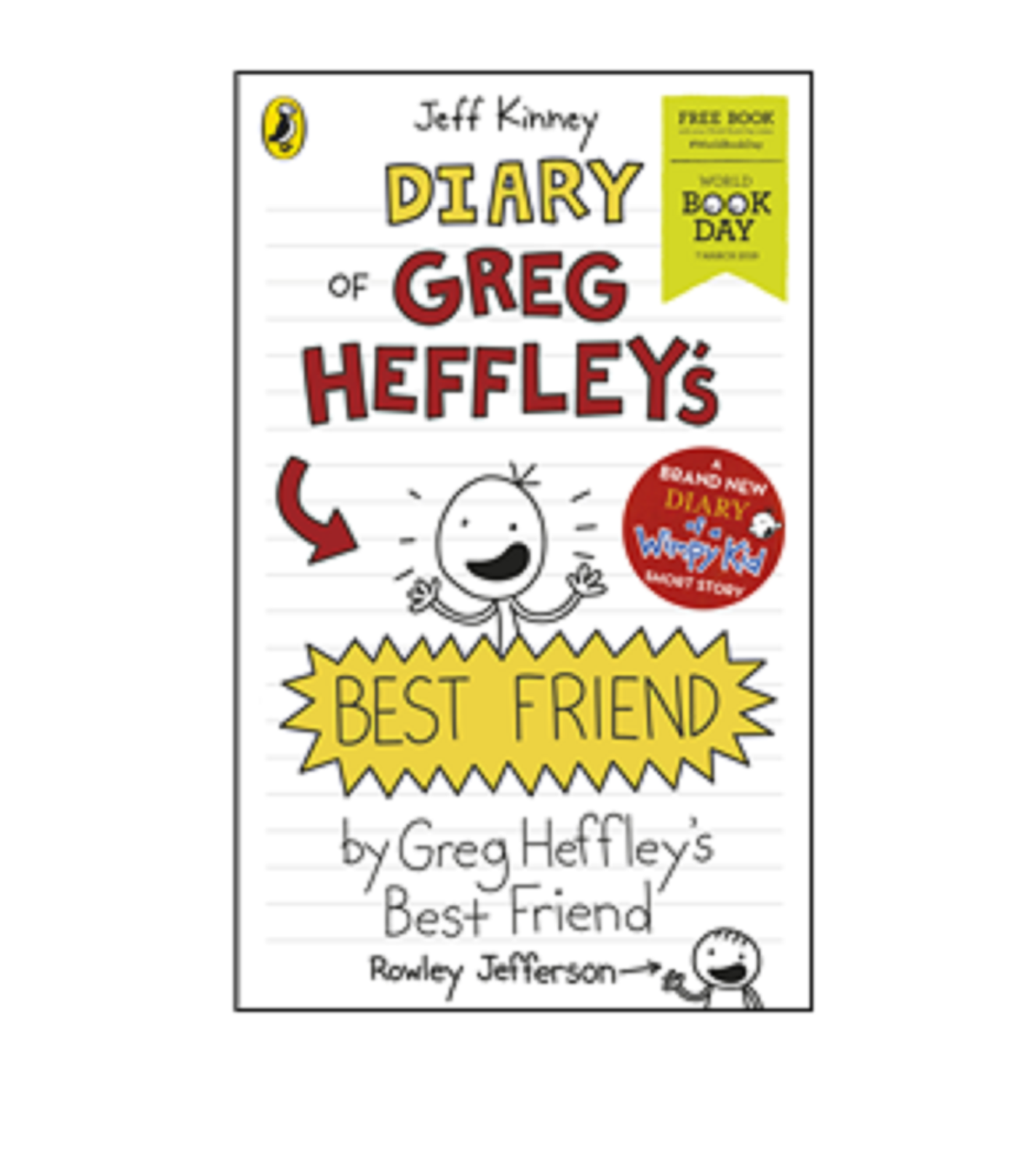 Diary of Greg Heffley's Best Friend By Jeff Kinney World Book Day 2019 Wimpy Kid 2