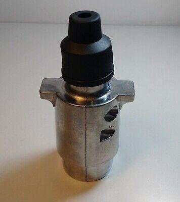 7 Pin Trailer Plug & Socket Aluminum 12V 12N Towing Car Van Maypole Mp25B+Mp24B 4