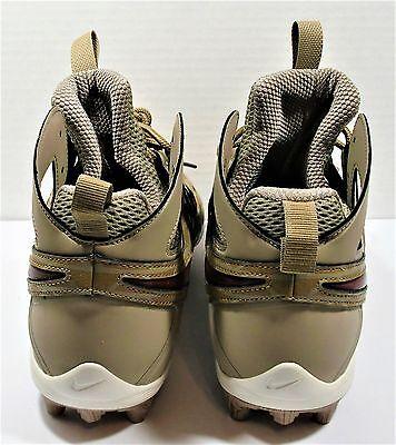 Nike Huarache V LAX Elite Thompson Bros Lacrosse Cleats Sz 10 NEW 807120 200
