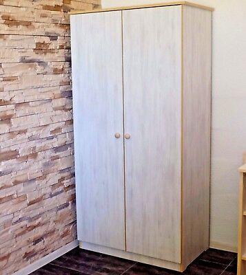 Babyzimmer Komplett Set Babybett Umbaubar Kommode Schrank Regal Weiss