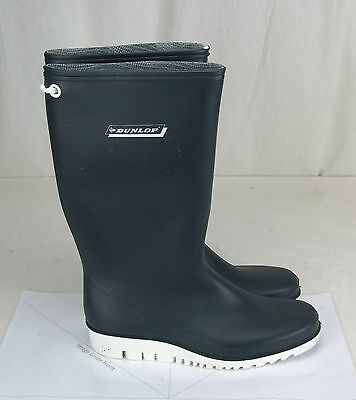 Seaboots Dunlop Brand size 7 Gum Boots. Sailing, Boating Deck Boots