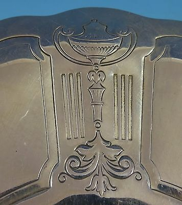 Reed and Barton Sterling Silver Cookie Plate w/Chased Urns Fruit #800 (#1413) 4