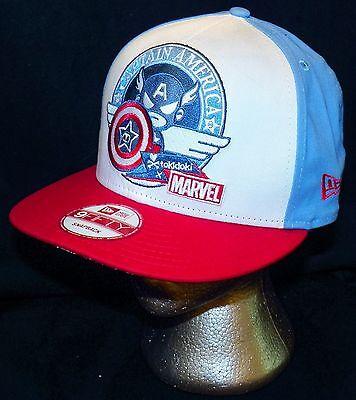 pretty nice dc61c 650ee ... Tokidoki Marvel Comics Captain America New Era 9FIFTY Disney Store  Baseball Hat 5