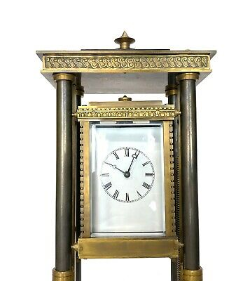 French Style Falling Gravity Driven Bronze Industrial Elevator Industrial Clock 7