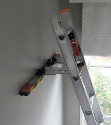 The Lacket Ladder Bracket with Stabiliser Bar - Fits Most Ladders,Quick,Secure 5