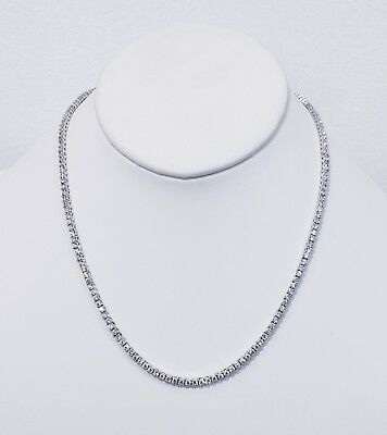 3Mm Diamond Tennis Chain Vvs1 Crystals Best Quality 14Kt Real Gold Finish 4