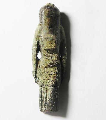 Zurqieh -Mk2242- Ancient Egypt - Faience Amulet, 1075 - 600 B.c 3