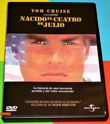 NACIDO EL CUATRO DE JULIO / Born on the Fourth of July + TOP GUN - DVD R2 3