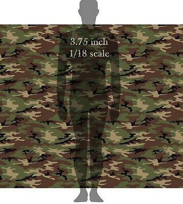 GI Joe Lt Falcon Camouflage Waterslide Decals 1//18 scale figures