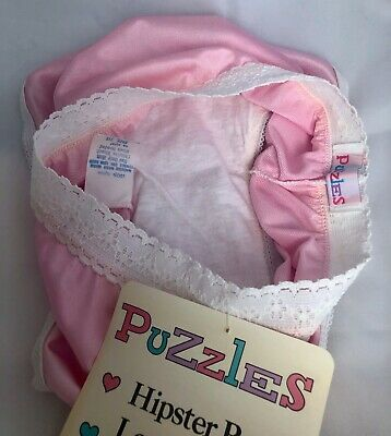 Vintage NOS Girls Puzzles Nylon Hipster Panty....Sz 14 4