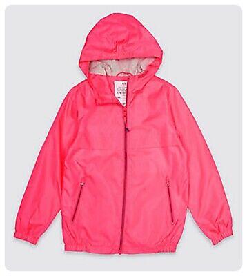 Packaway Jacket Mac Rain Coat Kids Boy Girl  NEW Ex M&S Age 3-16 Yrs Lightweight 11
