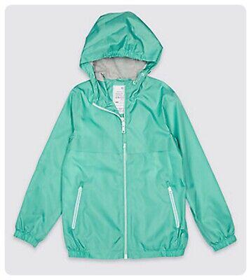 Packaway Jacket Mac Rain Coat Kids Boy Girl  NEW Ex M&S Age 3-16 Yrs Lightweight 10