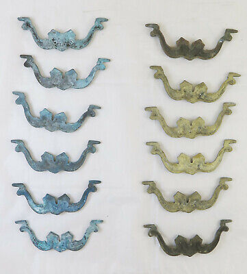 12 Handles for Furniture Antique Bronze Handmade Accessories for Furniture CH30 11