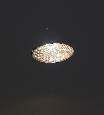 "17"" Long Brass Pendant Light Fixture Xray Shade Globe Hubbell Socket 3"