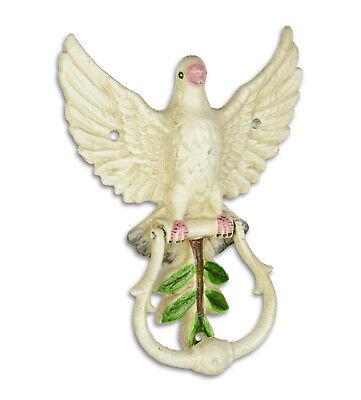Türklopfer Vogelfigur Taube Eisen Türklingeln & Klopfer Geschenk Haus+Tür Deko 1 3