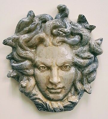 Medusa Head by Caravaggio Greek Greece Mythology Dictionary Page Art Print