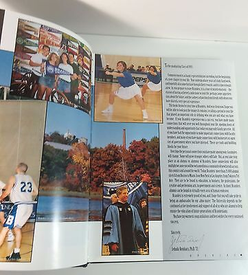 Brandeis University Yearbook 1995 Looking Beyond the Images Waltham, Mass 3
