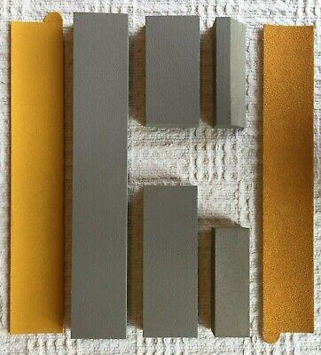 "Curve-Flex, 5 Piece -Professional Hand Sanding Block Kit 16.5"", 7.75"", 5.5"" blks 4"