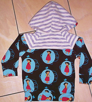 HEIDI Hoodie Kapuzenpullover Shirt - Langarm WIE VON DAWANDA Gr 74-80 HEIDIMOTIV 2