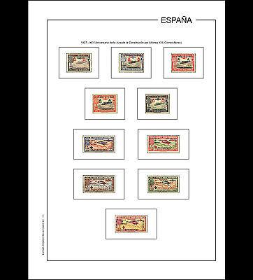 Hojas álbum España Primer Centenario 1850-1949 PDF DIGITAL en A4 y en 30x27cm 3