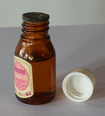 Vasenol Kinder Öl - kleine Glasflasche aus den 50ern 2