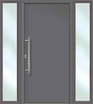 Haustür Anthrazit hochwertige aluminium haustür anthrazit titan inklusive 2