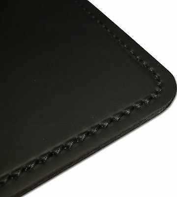 schreibunterlage schreibtischunterlage leder schwarz 60 x 40 cm rindnappaleder eur 45 00. Black Bedroom Furniture Sets. Home Design Ideas