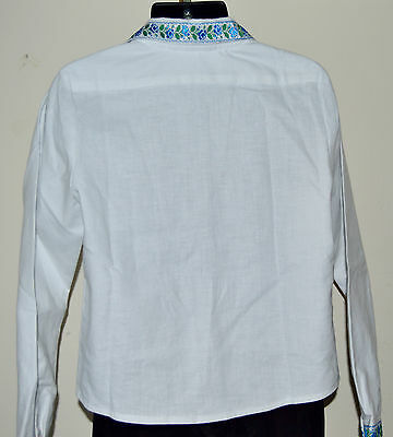 NEW Hand Made Vyshyvanka Traditional White formal Shirt for boy 3-4 years old 4