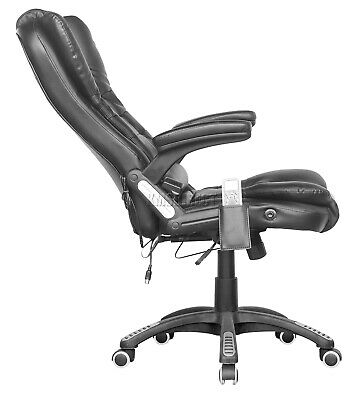WestWood Heated Massage Office Chair – Leather Gaming Recliner Swivel Computer 4